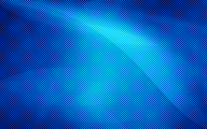 Download wallpapers squares, 4k, blue background, square