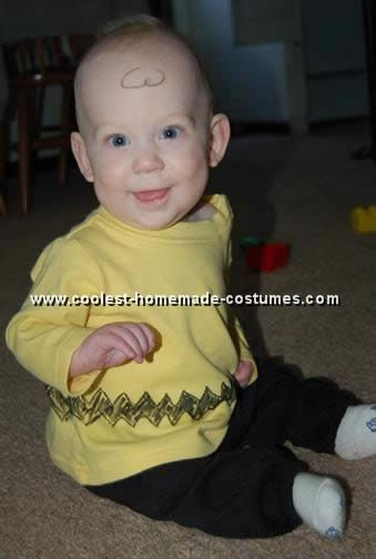 Coolest Homemade Charlie Brown Costume Ideas Charlie brown costume - scary homemade halloween costume ideas