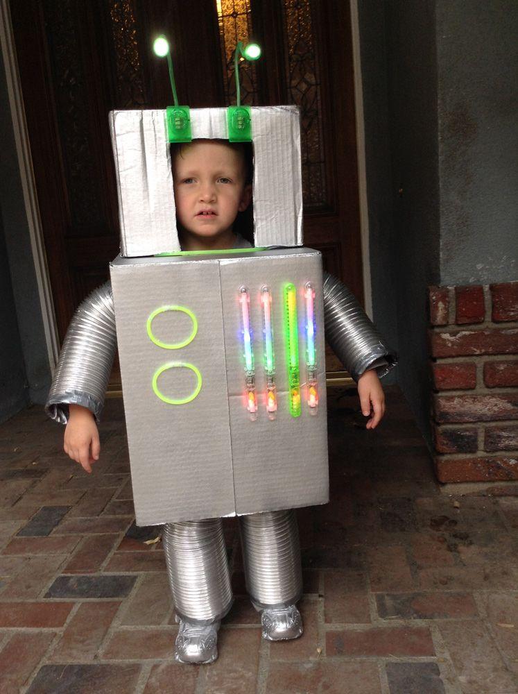 Costume Halloween Robot.Vincent The Robot Toddler Halloween Costume Robot Halloween Costume Toddler Halloween Costumes Robot Costume Kids