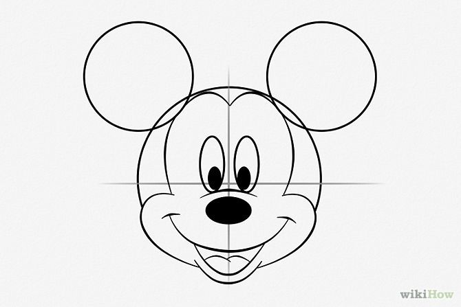 Dessiner mickey mouse disney pinterest mickey mouse gateau mickey mouse et dessin - Comment dessiner mickey ...