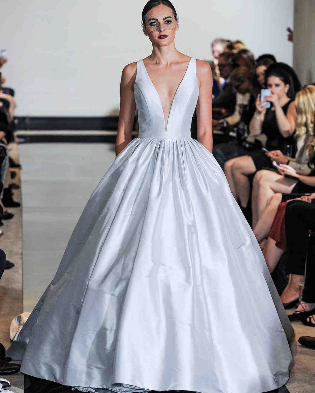 Justin Alexander Spring 2018 Wedding Dress Collection Martha Weddings Sleeveless Ball Gown