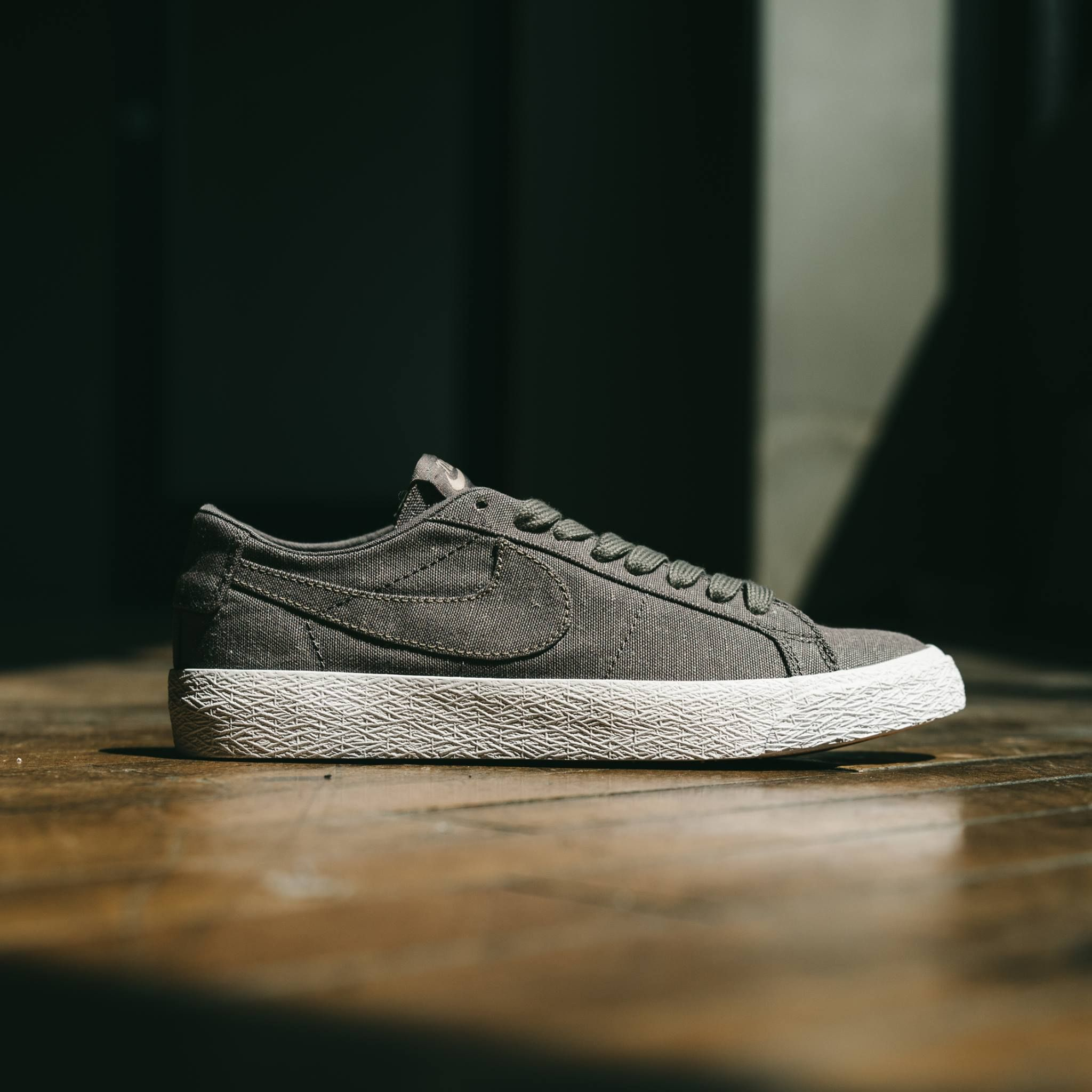 Nike SB Blazer Low Canvas Deconstructed. Lightweight canvas and a solid  neutral colorway make this classic a no brainer this summer. aa77c0199