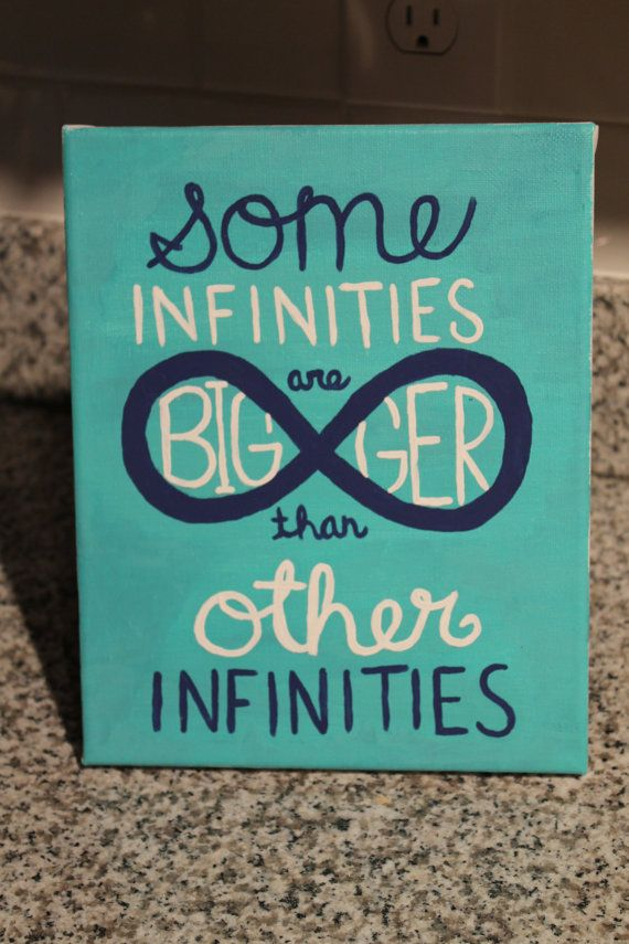 some infinities are bigger than other infinities