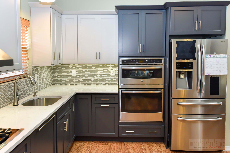 Pin By Consumers Kitchens Baths On Rocky Point Repose Kitchen Grey Kitchen Cabinets Kitchen Design