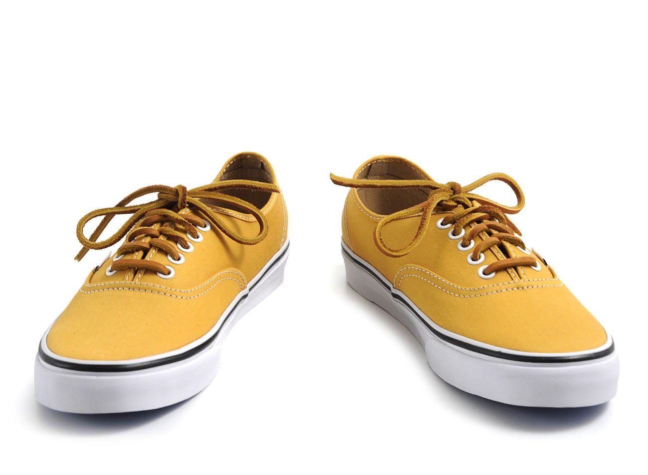 vans authentic giallo