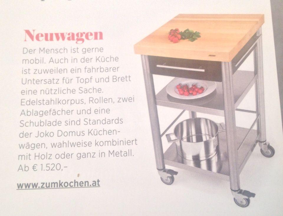 Im aktuellen GUSTO Zu haben bei zumKochen Küchenwagen von Joko - küchenwagen mit schubladen