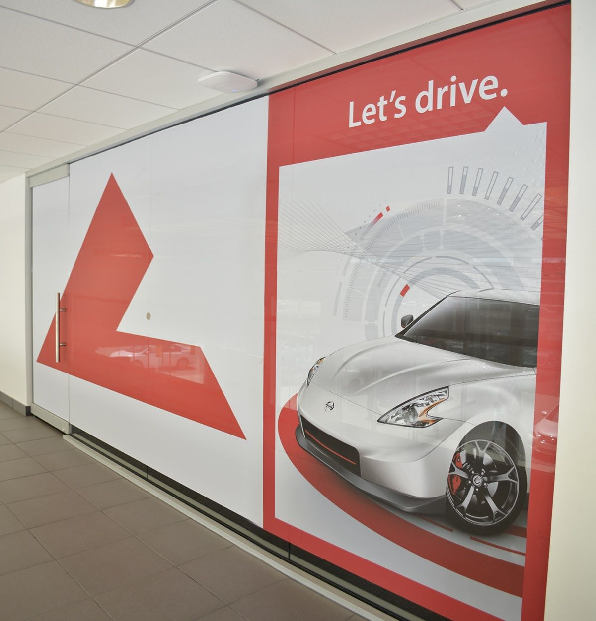 Valuable Identity And Conference Room Privacy For Legacy Nissan In London,  Ky. Using LexJet