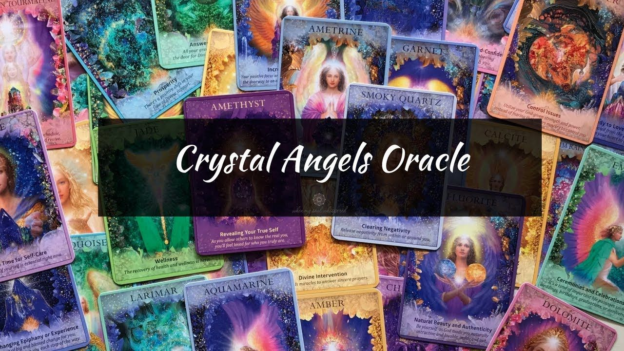Crystal angels deck by doreen virtue with images