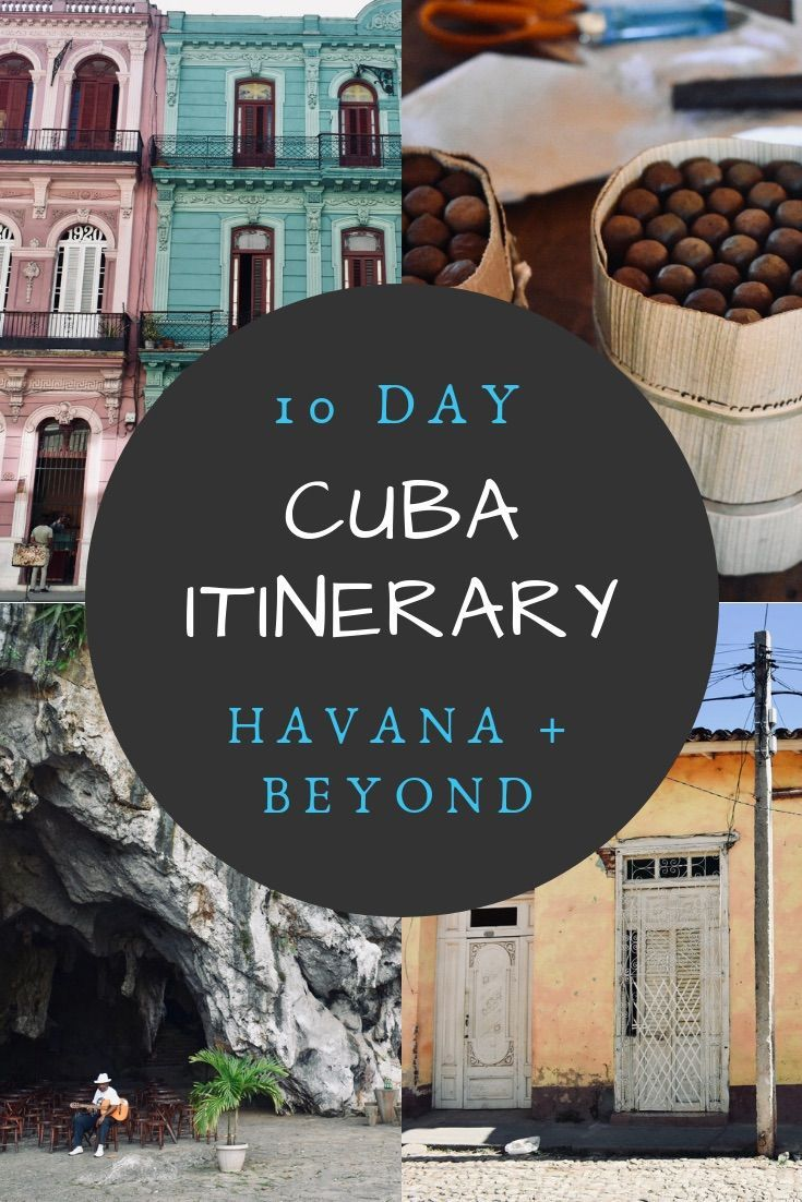 Cuba Itinerary | How to spend 10 days in Cuba. This Cuba 10 day itinerary includes colonial cities, countryside, and revolutionary history. Visit Havana Cuba and beyond! #cuba #cubaitinerary #cubatravel #cubatour