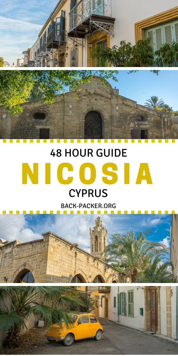 Things to do in Nicosia, Cyprus. This two day travel itinerary ...