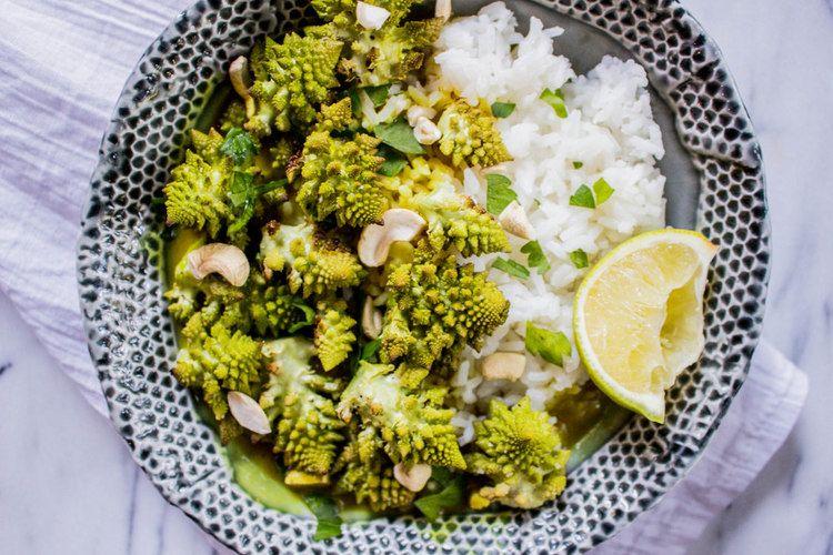 Romanesco Green Curry