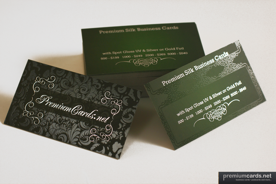 Premium silk with spot gloss and foil premiumcards business premium silk with spot gloss and foil premiumcards business card colourmoves