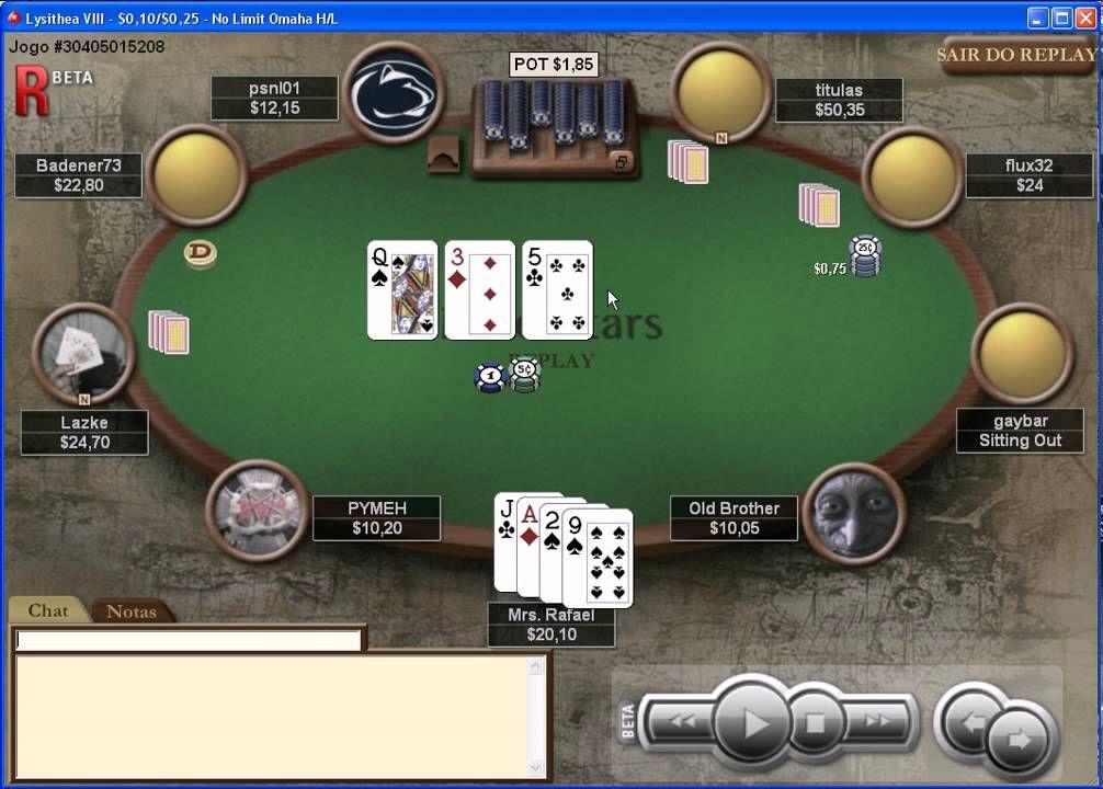 Assis Poker Hand 03 Omaha Hi low Jogos