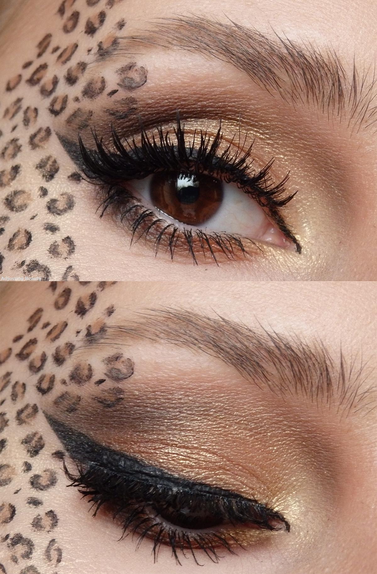 Pretty Leopard Makeup Leopard makeup, Animal makeup