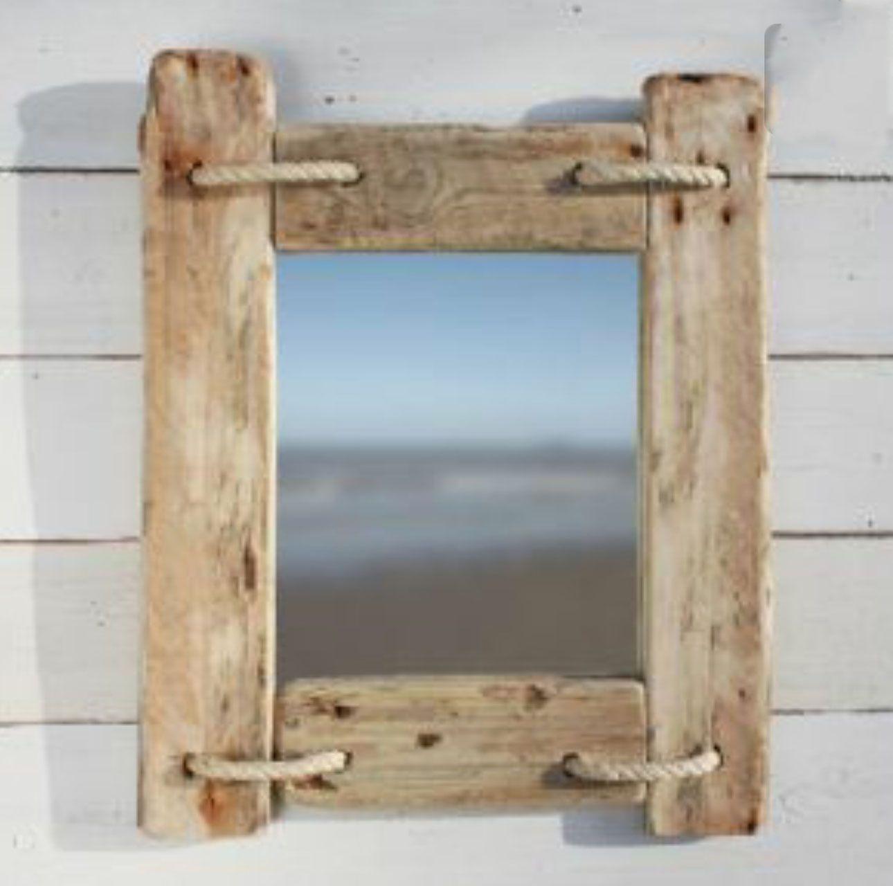 Barnwood Mirror Frame Diy