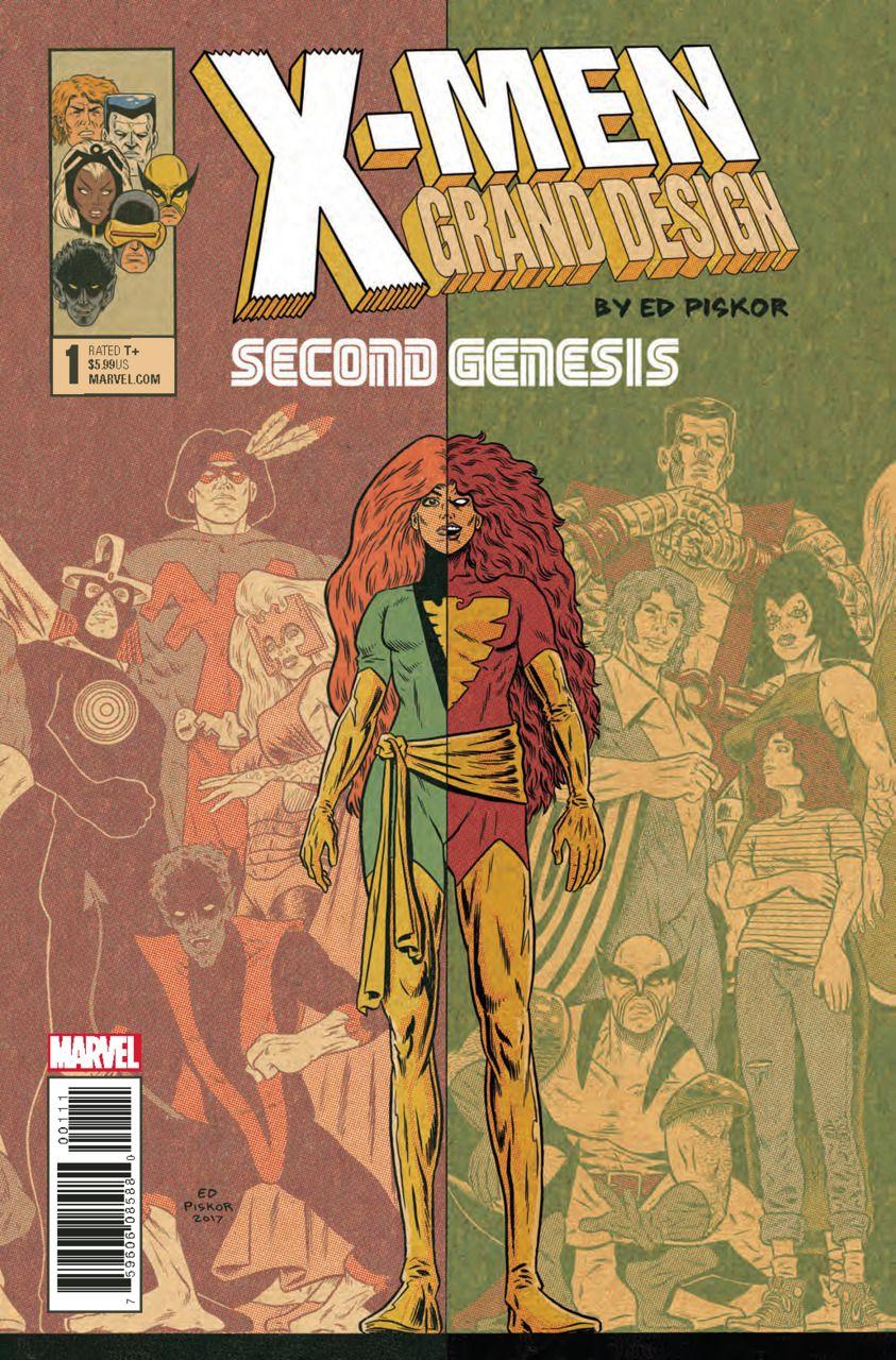 X Men Grand Design Second Genesis 1 X Men Marvel Grand Designs