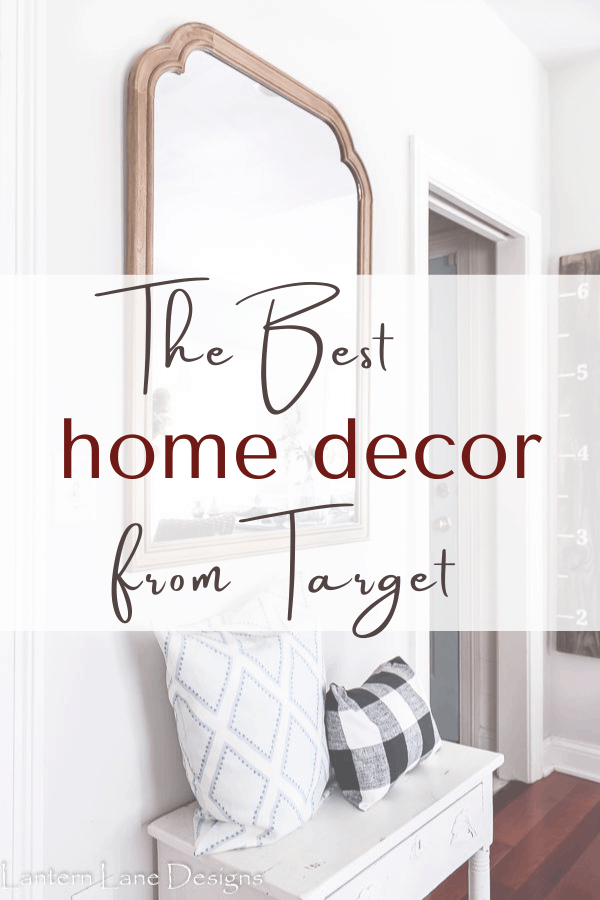 Beautiful and affordable home decor from Target