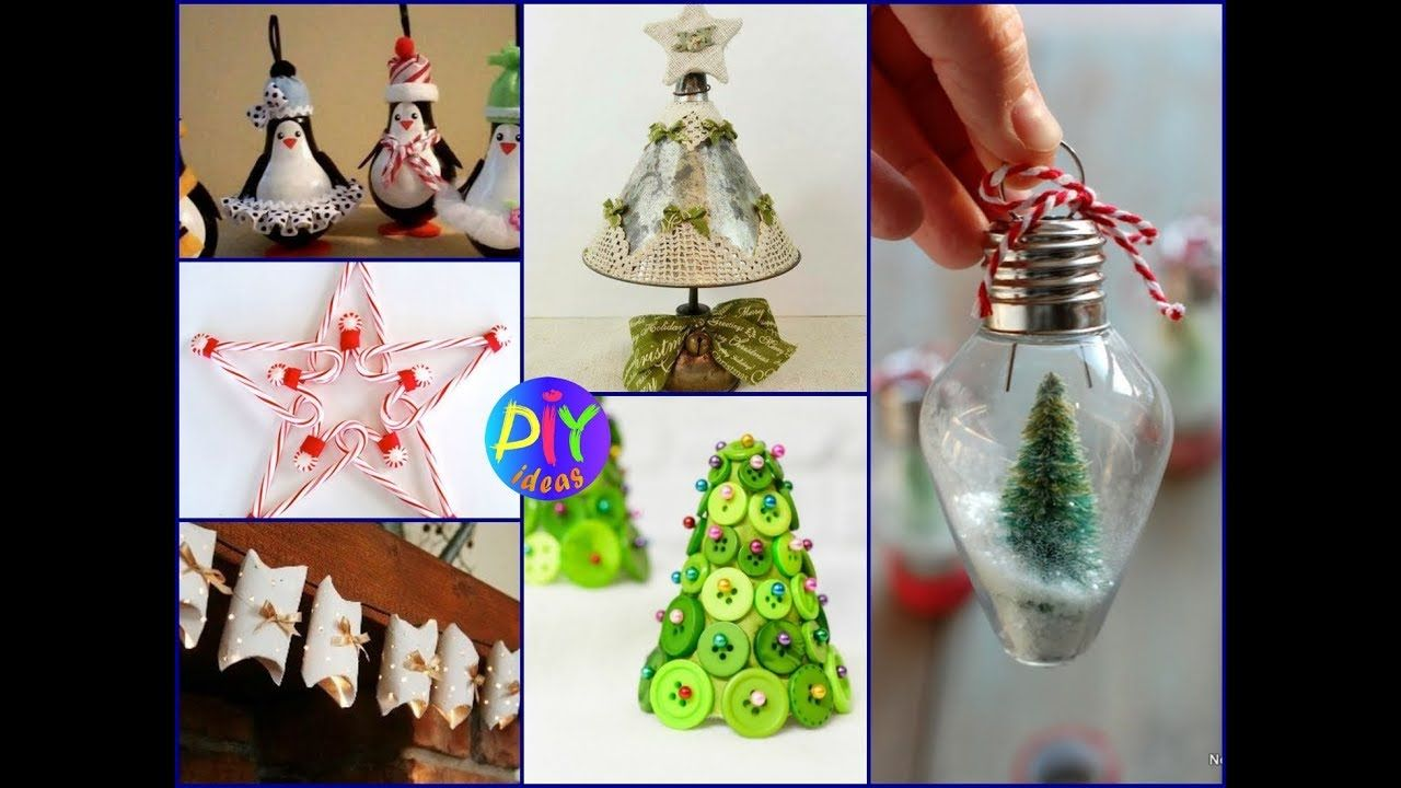 Diy Christmas Crafts And Decorations Using Recycled Materials Diy