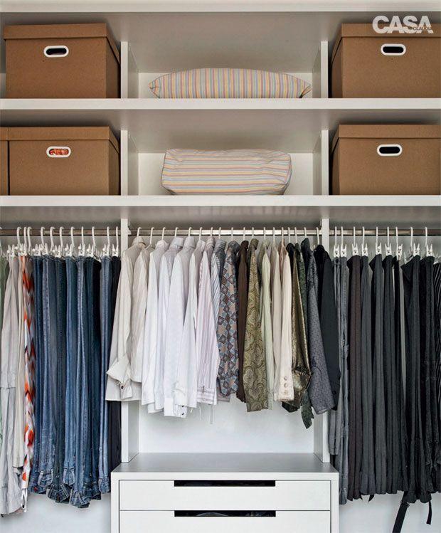 Mesa Aparador Para Quarto De Bebe ~ Como organizar um armário sem portas? Guarda roupa