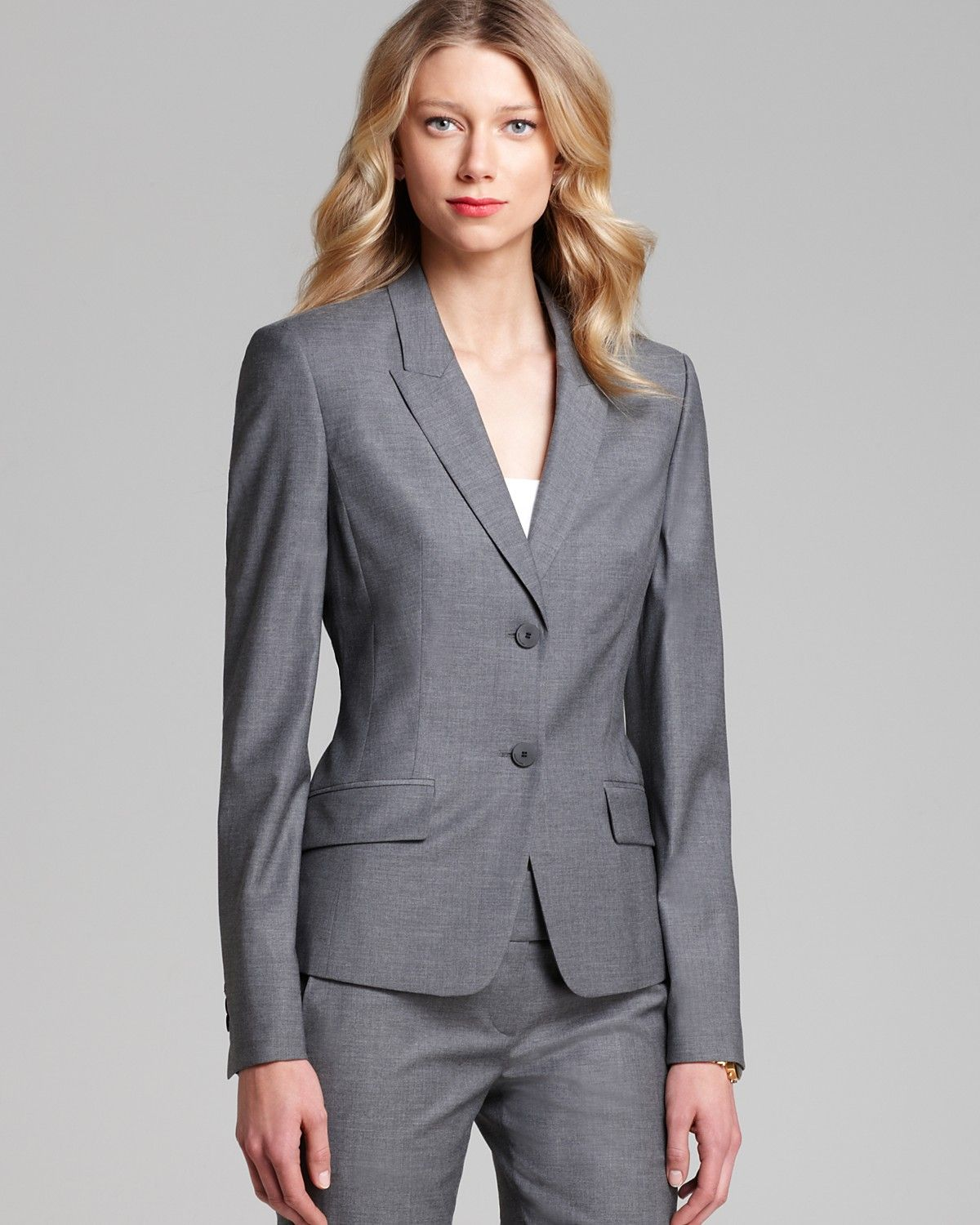 330979091 BOSS HUGO BOSS Jadena Blazer | Bloomingdale's | Wardrobe Essentials ...