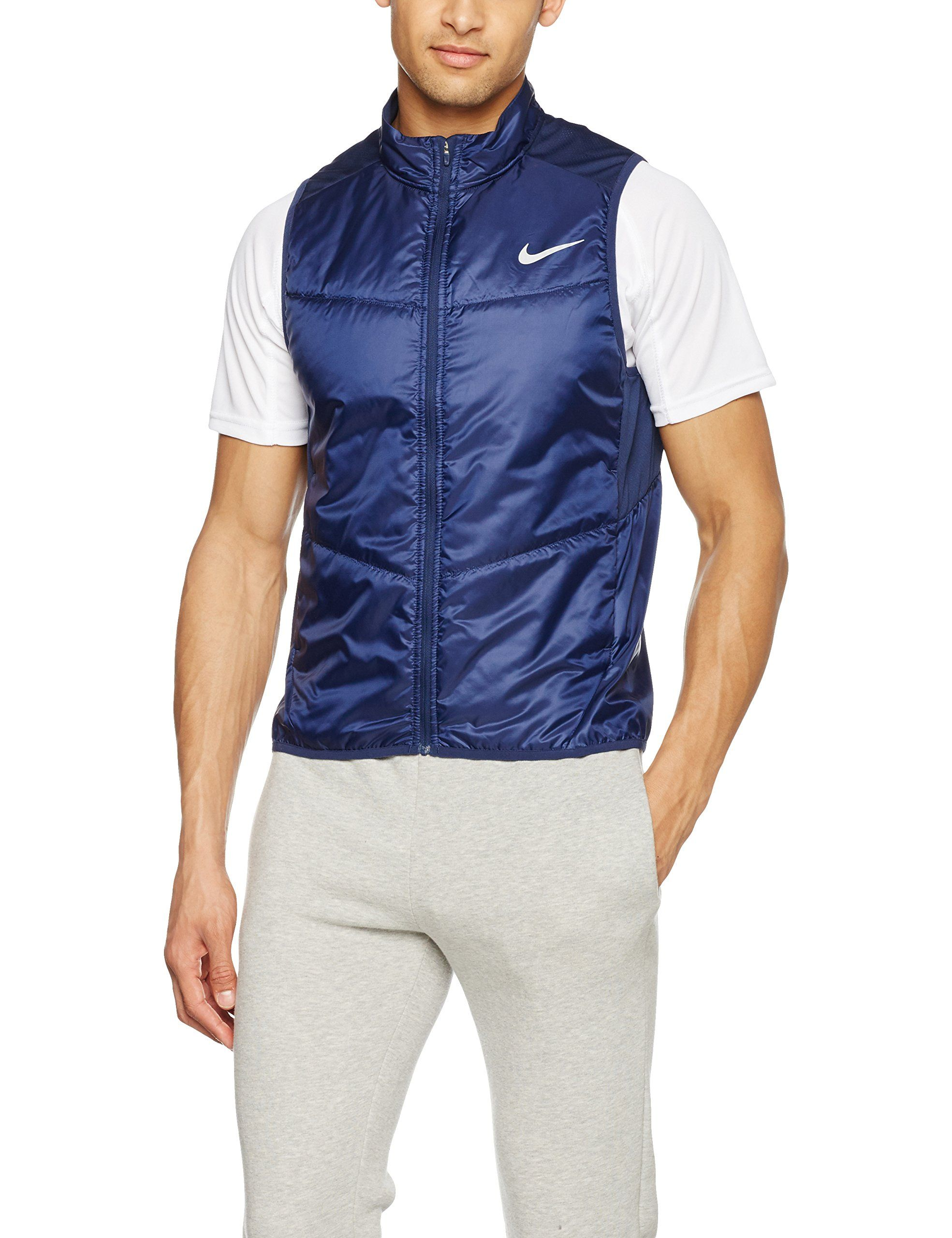 more photos 3704a 93b5d Men s Nike Polyfill Running Vest MIDNIGHT NAVY.