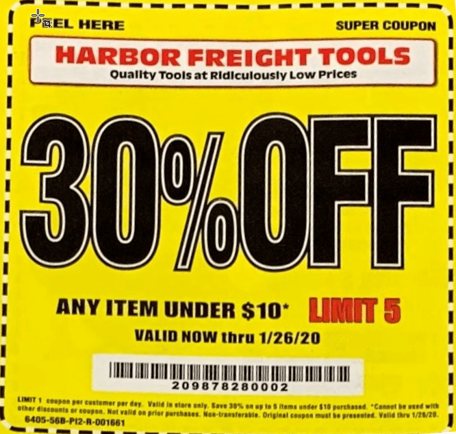 Pin on Harbor Freight 20 Off Coupon Code