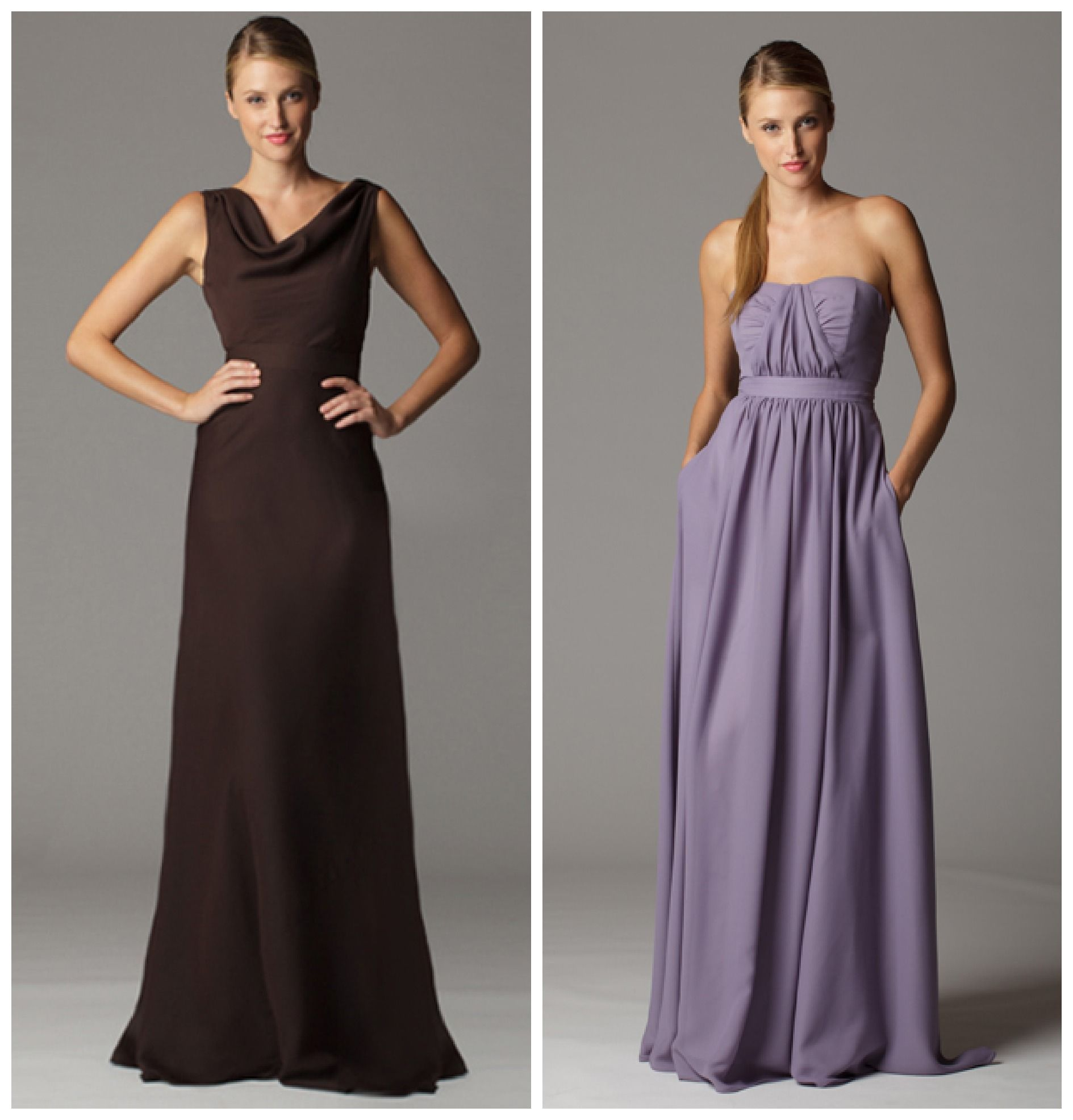 Soft & Flowy Bridesmaid Dresses | Purple dress, The o'jays and The ...