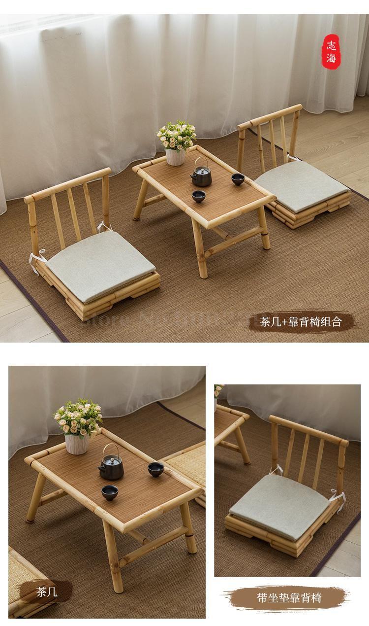 Simple Bay Window Tatami Coffee Table Table Japanese Style Small Coffee Table Creative Tea Table And Chairs Solid Wo Small Coffee Table Creative Tea Bay Window [ 1270 x 750 Pixel ]
