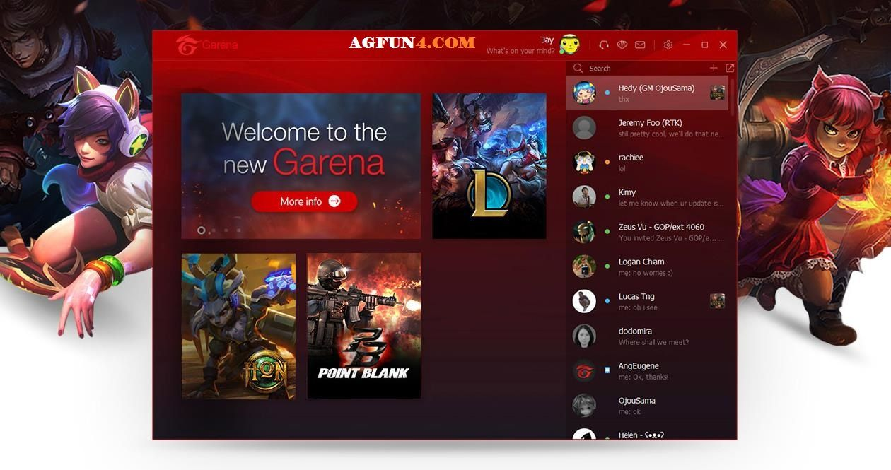 garena Download garena Download pc garena chat | agfun4 com