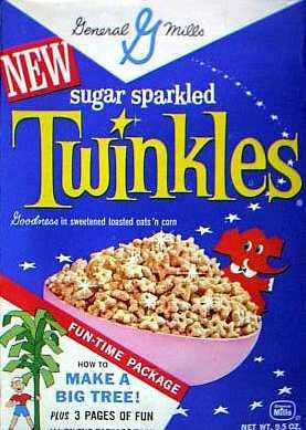 Twinkles cereal  c. 1961