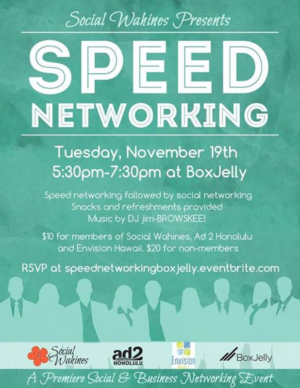 Honolulu Hi Social Wahines Is Very Excited To Be Bringing You Sd Networking The First Hour Will And Second Socializing