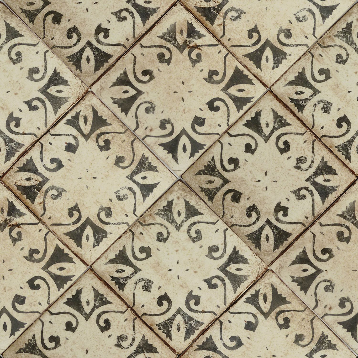 hand-painted terra-cotta tile. classic and elegant mediterranean