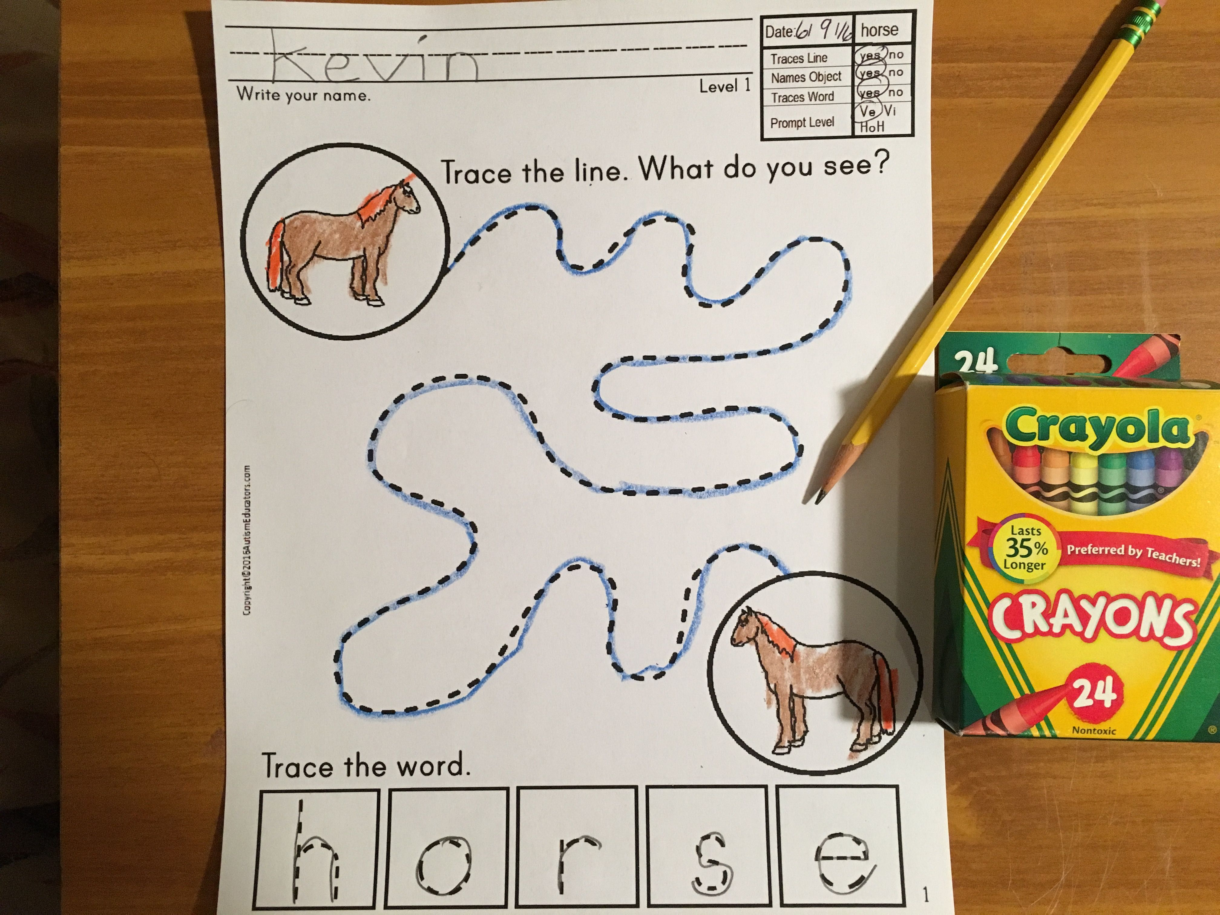 Fine Motor Trace Spell And Write Learning With Fun