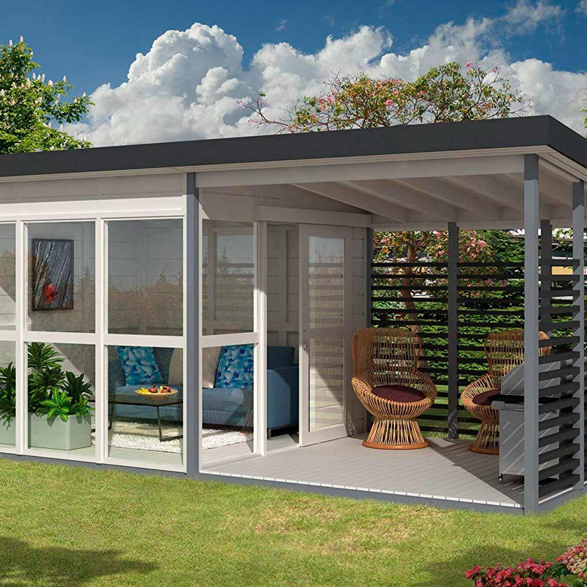 Amazing Cabin Kits You Can Buy On Amazon Backyard Guest Houses Pre Fab Tiny House Backyard House