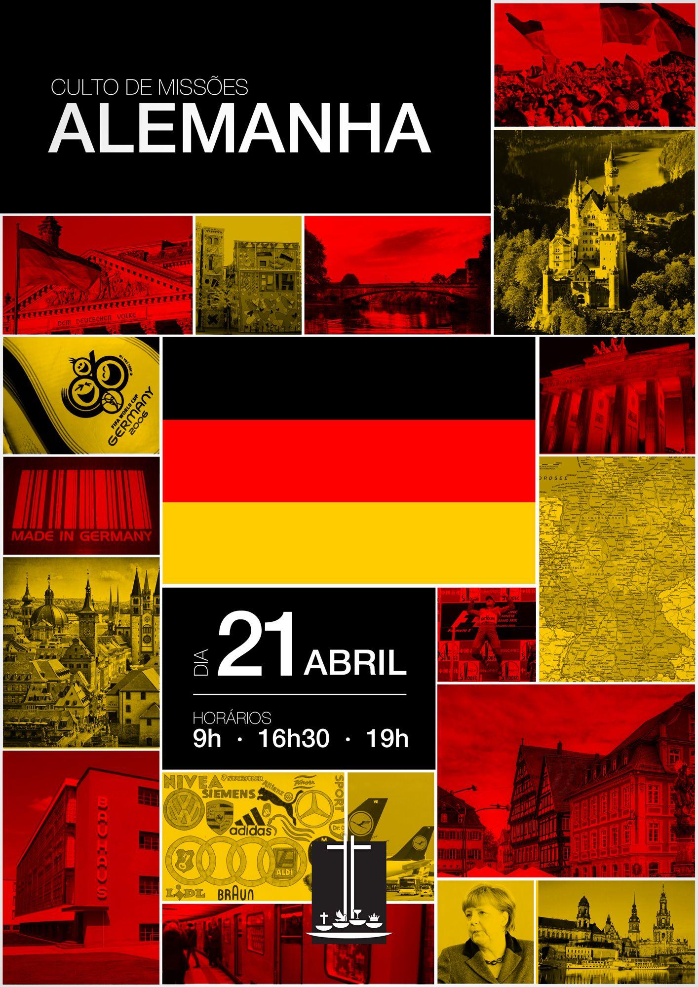 Culto de Missões - Alemanha - 21 de Abril de 2013.