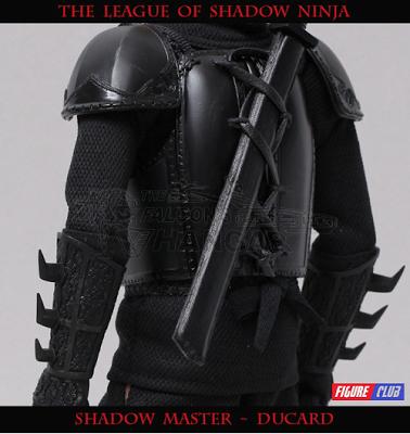 Shadow Master DUCARD 3.0 Action Figure FIGURE CLUB 1//6 League of Shadow Ninja