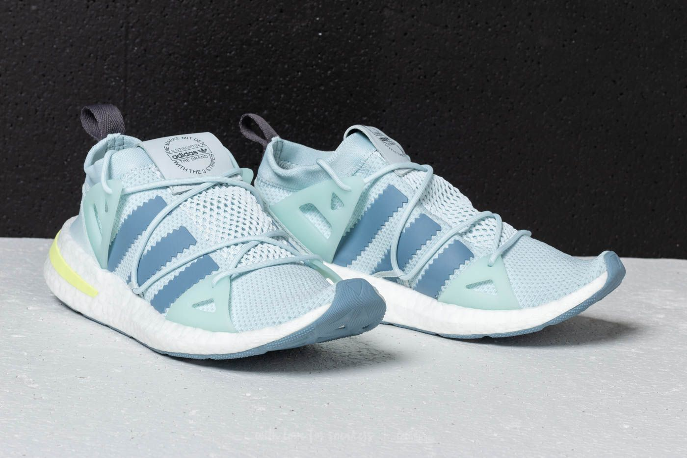 check out 1c900 7c7f5 adidas Arkyn Woman Blue Tint Raw Grey  Grey  160  blue adidas arkyn  boost sneakers