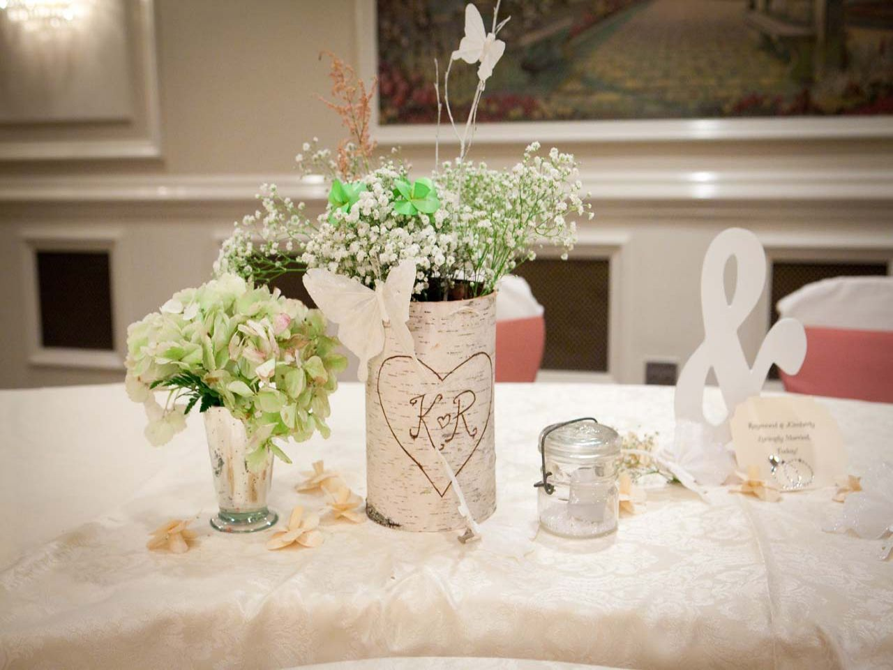 Diy Wedding Table Decorations Diy Wedding Decorations Pinterest