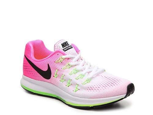 newest 02a91 776dc Nike Air Zoom Pegasus 33 Lightweight Running Shoe - Womens