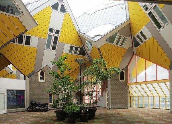 Casas Cubo en Rotterdam Casas, Tipos de casas, Casa abierta