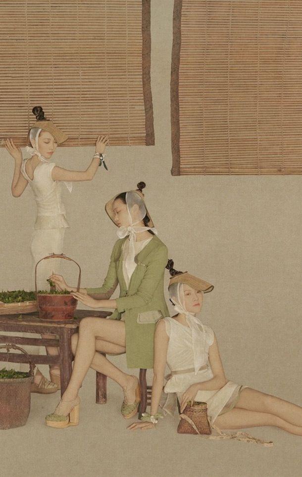 """shanghai fashion photographer SUN JUN's """"TEA"""" series /// NeochaEDGE ///"""