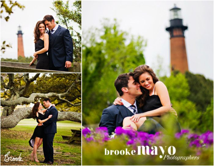Corolla Light Currituck Lighthouse Outer Banks Wedding OBX