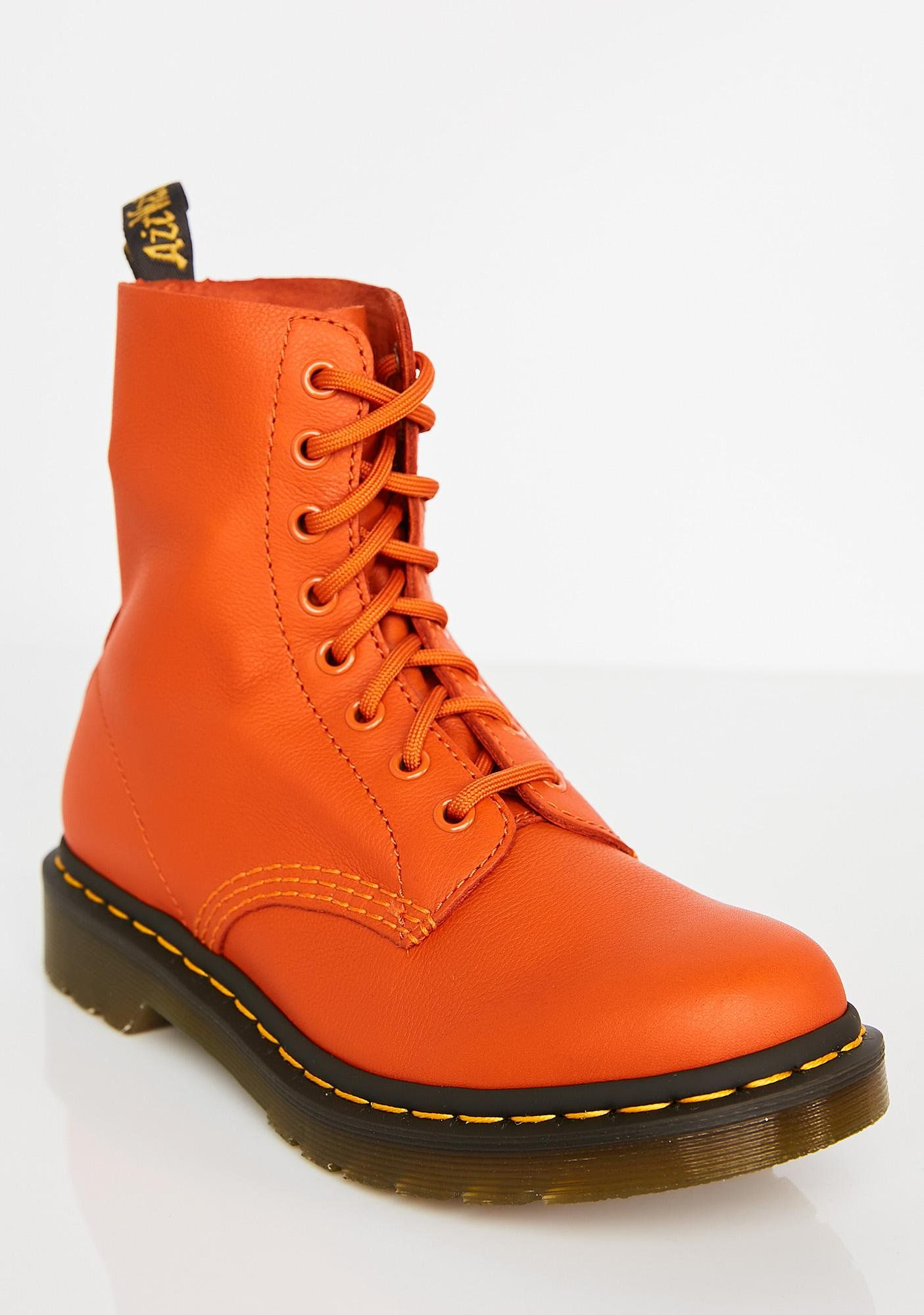 Dr. Martens 1460 Pascal Burnt Orange Boots 5853740895cb