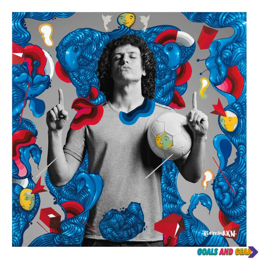 "From Pitch To Canvas – Pepsi Max Celebrates ""The Art of Football"" David Luiz"