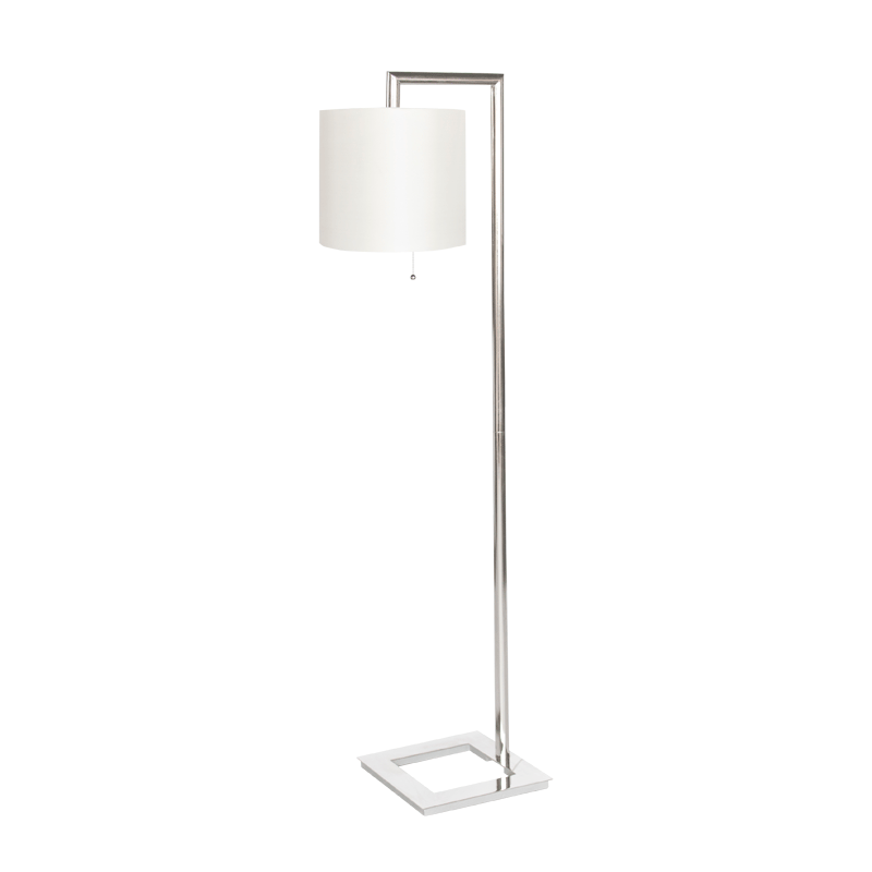 Worlds away stephan n nickel plated right angle floor lamp w worlds away stephan n nickel plated right angle floor lamp w cream shade mozeypictures Images