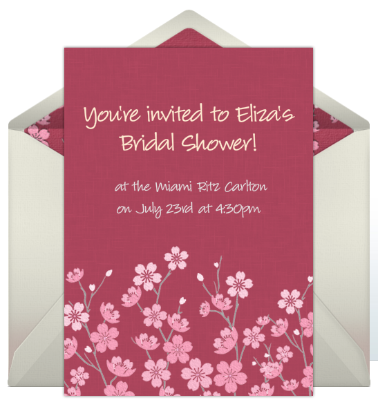 Free Online Invitations For Bridal Showers My Style Pinterest
