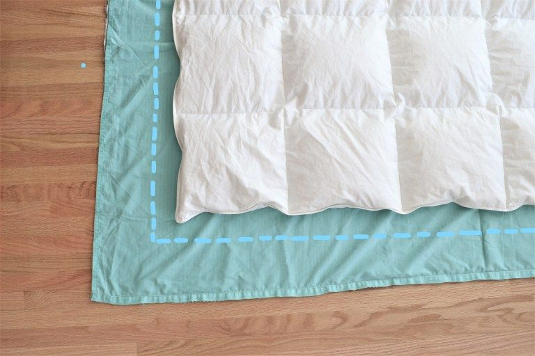 Diy Duvet Cover From Flat Sheets Tutorial Making Things Is Awesome Diy Duvet Duvet Cover Diy Diy Bed Covers