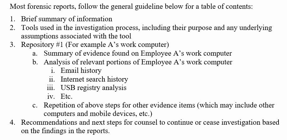 20 Forensic Report Template Microsoft Word In 2020 Forensics
