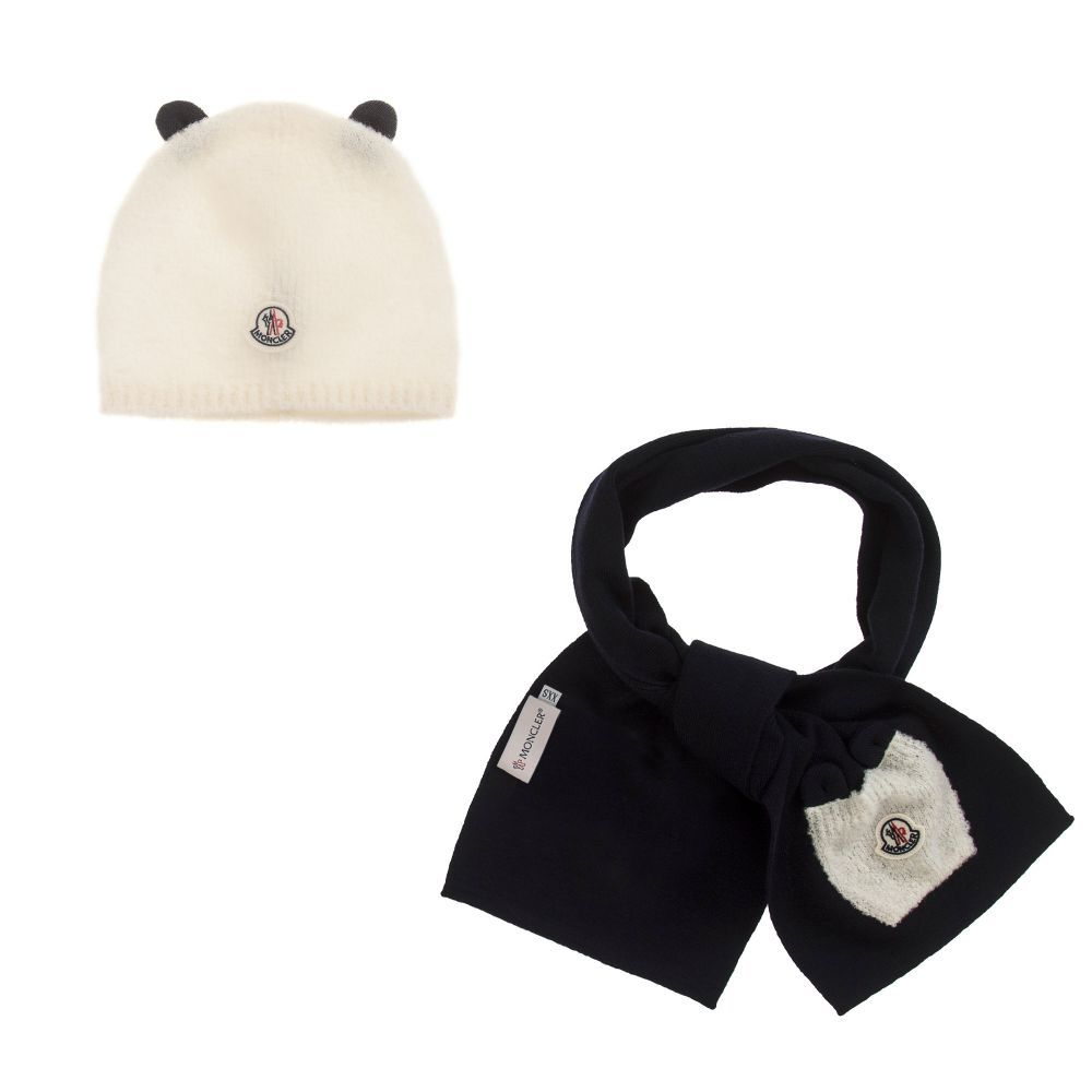 f0bf6323a Moncler Baby Unisex Wool Hat Gift Set. Shop from an exclusive ...