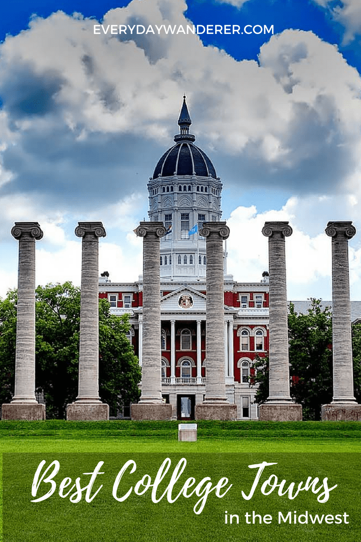 The Best College Towns In The Midwest Travel Usa Travel
